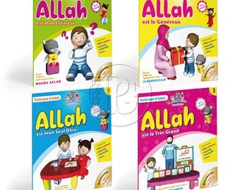 """Talk with me of Allah"" series (4 pack books)"
