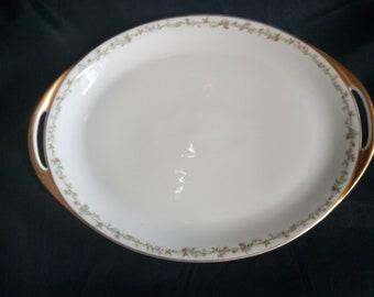 """Haviland Limoges 16"""" oval serving platter"""