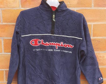 Champion big logo spell out