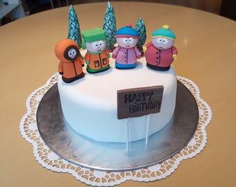 Cake topper  South Park