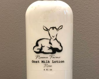 Goat Milk Lotion ~ Rose