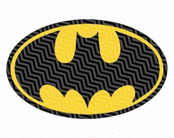 Batman logo Etsy