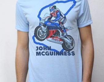 John Mcguinness T shirt Artwork