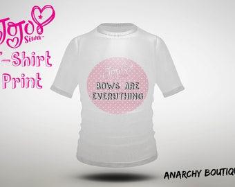 JoJo Siwa T-shirt / Bag Image, Instant Download, Printable Sticker, Iron on transfer, Digital File, Gift, Bows