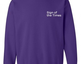 "Harry Styles ""Sign of the Times CORNER"" Sweatshirt"