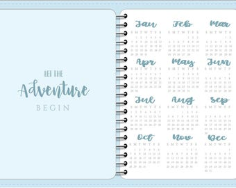 2018 Digital Planner | Baby Blue | PDF | Goodnotes