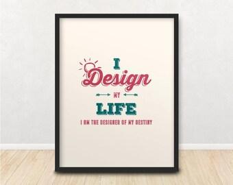 Designer's Poster | Modern Minimalist Wall Art | Designer's Poster | Ready To Print Wall Art