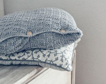 Knitted Pillow Liner 50 x 50 cm in cotton