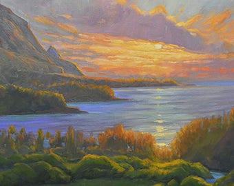Hanalei Sunset, Kauai