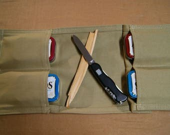 Outdoors Pouch 4 pockets.  Camping, Hiking, Hunting, Fishing, First Aid.