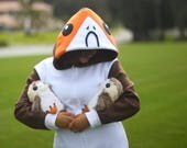 Porg onesie for adults sizes small medium large x large star wars the last Jedi pajamas costume porgs