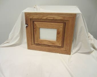 Solid Oak Stacked Picture Frame