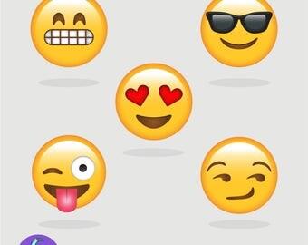 EMOJI Pack of x5 Emojis