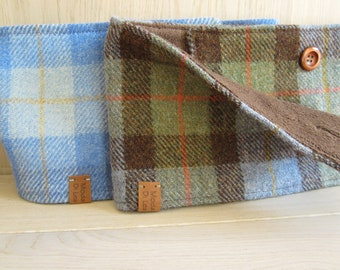 Harris Tweed neckwarmer, scarf  - for HIM and HER