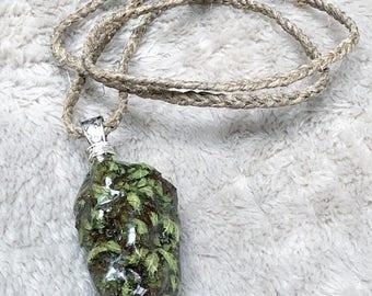 Cannabis Nug Charm Necklace
