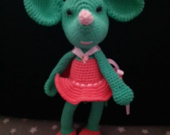 a green mouse...