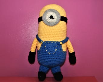 Minion Inspired Crochet Stuffed Toy