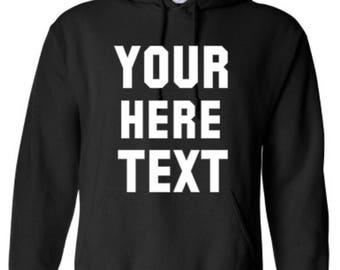 Custom Hoodie - Gildan - Heavy Blend Hooded Sweatshirt