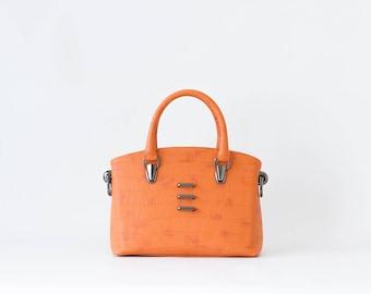 Dear - Structured Handbag -  Color Juicy Orange