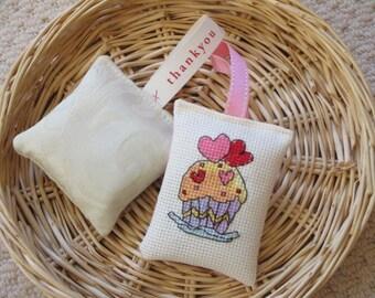 Lavender Sachet Duo - Cupcake Stitches