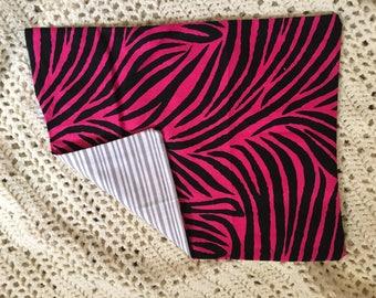 Zebra/Striped Cornbag- Square