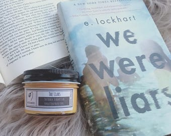 The Liars - 4 oz Bookish Candle - We Were Lairs - Wilted Wicks