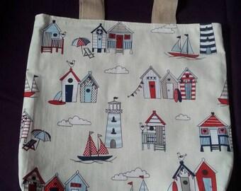 Tote Bag Nautical/Beach print