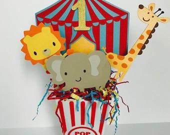 Circus centerpiece/ zoo centerpiece