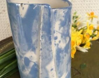 Bespoke hand crafted ceramic stoneware Vase