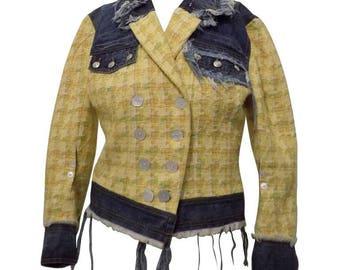 John Galliano Denim Jacket Size 38