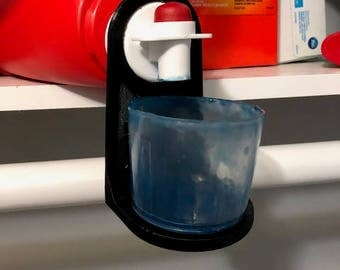 Laundry cup soap holder