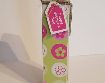 Mothers Day Decorative Peg Clothespin Memo Note Photo Holder Magnetic