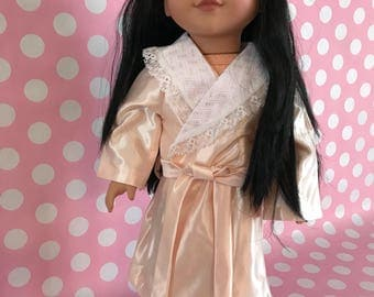 "18"" Doll Robe & Slippers"