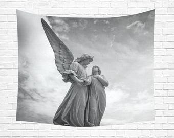 "Guardian Angel Wall Tapestry 60""x 51"" (5 colors)"