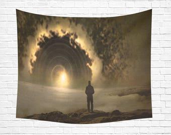 """Portal Wall Tapestry 60""""x 51"""""""