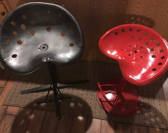 Tractor seat stools