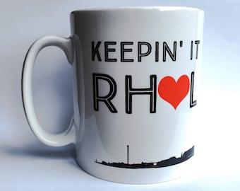 Keepin' It Rhyl Designer Mug