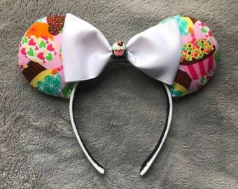 Cupcake Minnie Mouse Ears