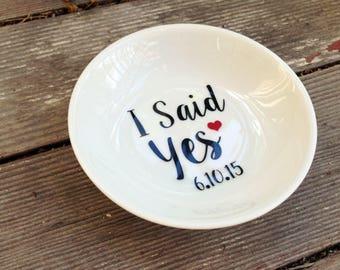 Ring Dish/Love/ Wedding/ Engagement Gift