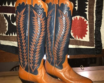 Panhandle slim, sanders boots NWOT 5.5 perfect condition cowboy boots
