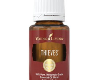 Thieves Young Living Essential Oil SAMPLE  1 ml or 2 ml for Beauty, Health and Vitality 100% Pure Therapeutic Grade #0114