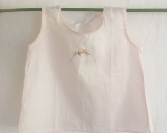 Rose Water apron dress.