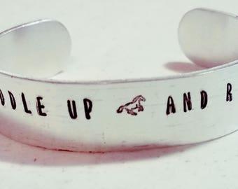 Customized Aluminum Bracelet