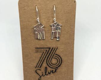 Stirling silver drop earrings