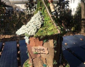 Mini Fairy House - Hope
