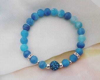 Beautiful natural stone bracelet