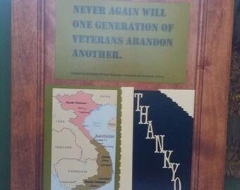 Vietnam Veteran, Thank you.