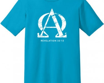 Alpha Omega Christian Shirt