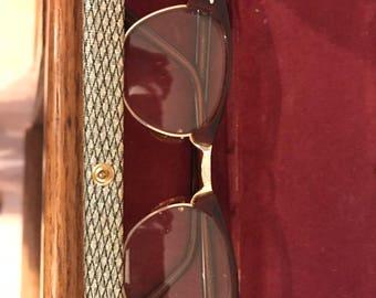 Vintage Art Craft Glasses