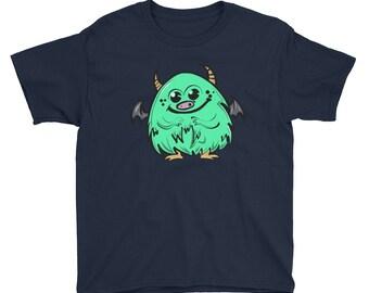 Mommy's little monster boys t-shirt